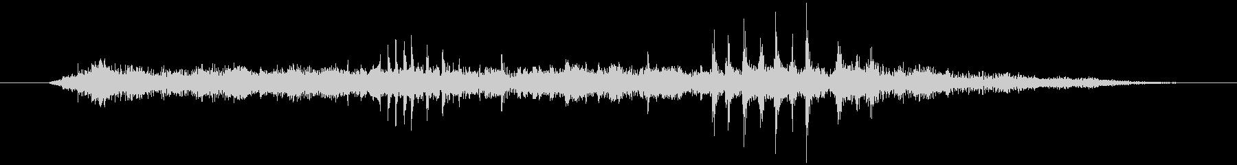 怪しいベル音2の未再生の波形