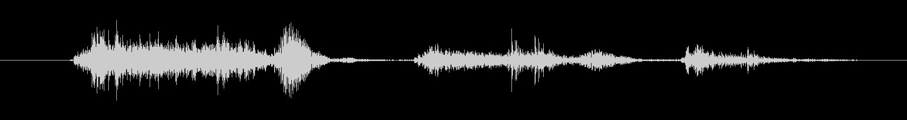 鳴き声 咳女性胸の大きい01の未再生の波形