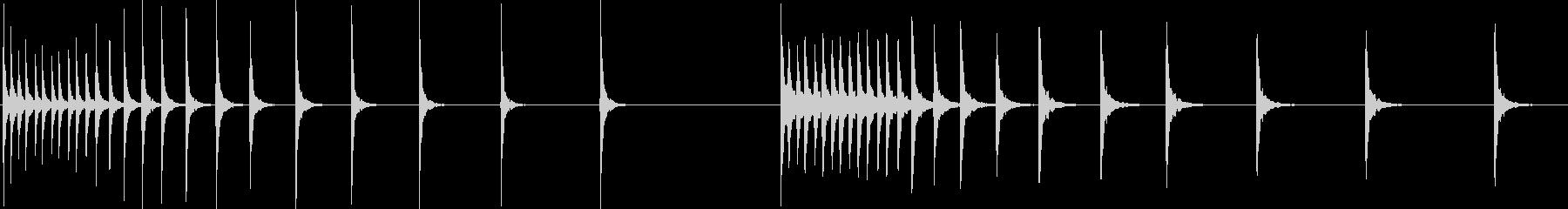 BONGO、DRUM、MUTED、...の未再生の波形