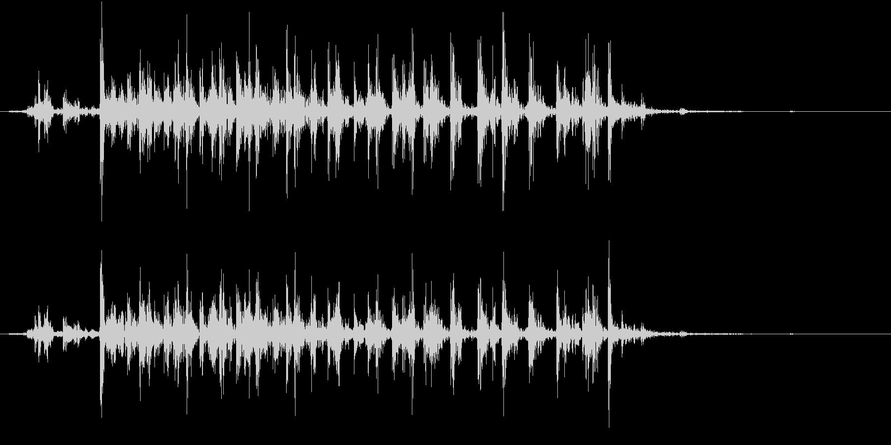 【生録音】カッターナイフの音 19の未再生の波形