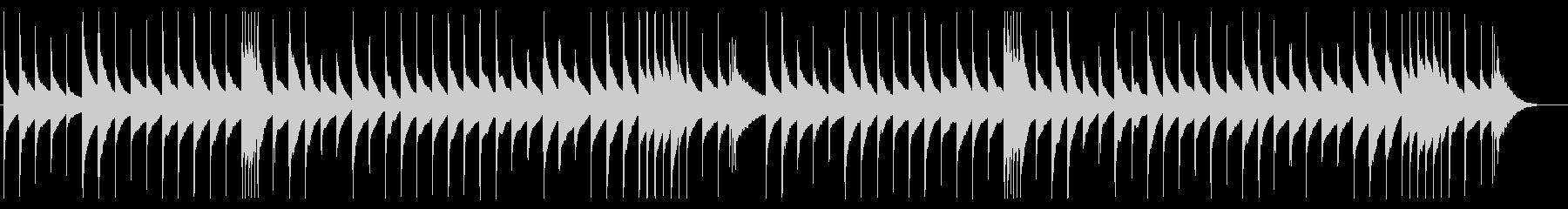 ショパン「ノクターン第2番」オルゴールの未再生の波形
