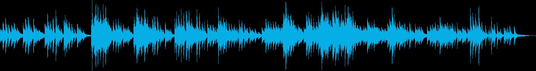 心残り(ピアノバラード・切ない・悲しい)の再生済みの波形