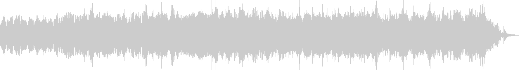 流れるピアノが印象的な癒しBGM Bの未再生の波形