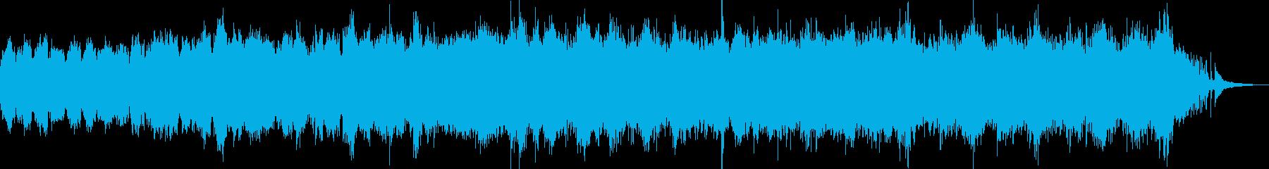 流れるピアノが印象的な癒しBGM Bの再生済みの波形