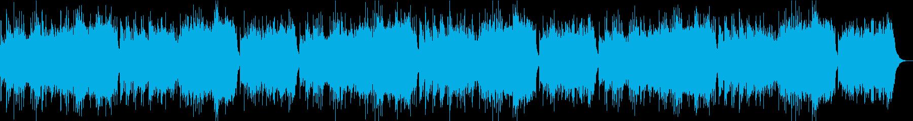 瀧廉太郎「花」オルゴールオーケストラの再生済みの波形