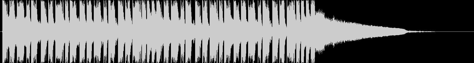 かっこいいEDM ベース クールの未再生の波形