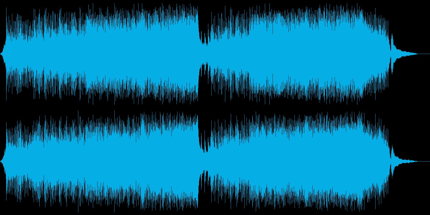 爽快に駆け抜けるシンフォニックロック2の再生済みの波形