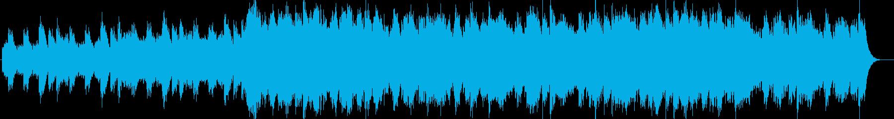 切なく悲しいストリングスの奏の再生済みの波形