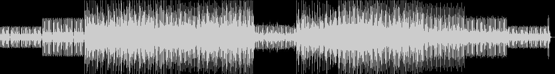 エレクトロBGM1の未再生の波形