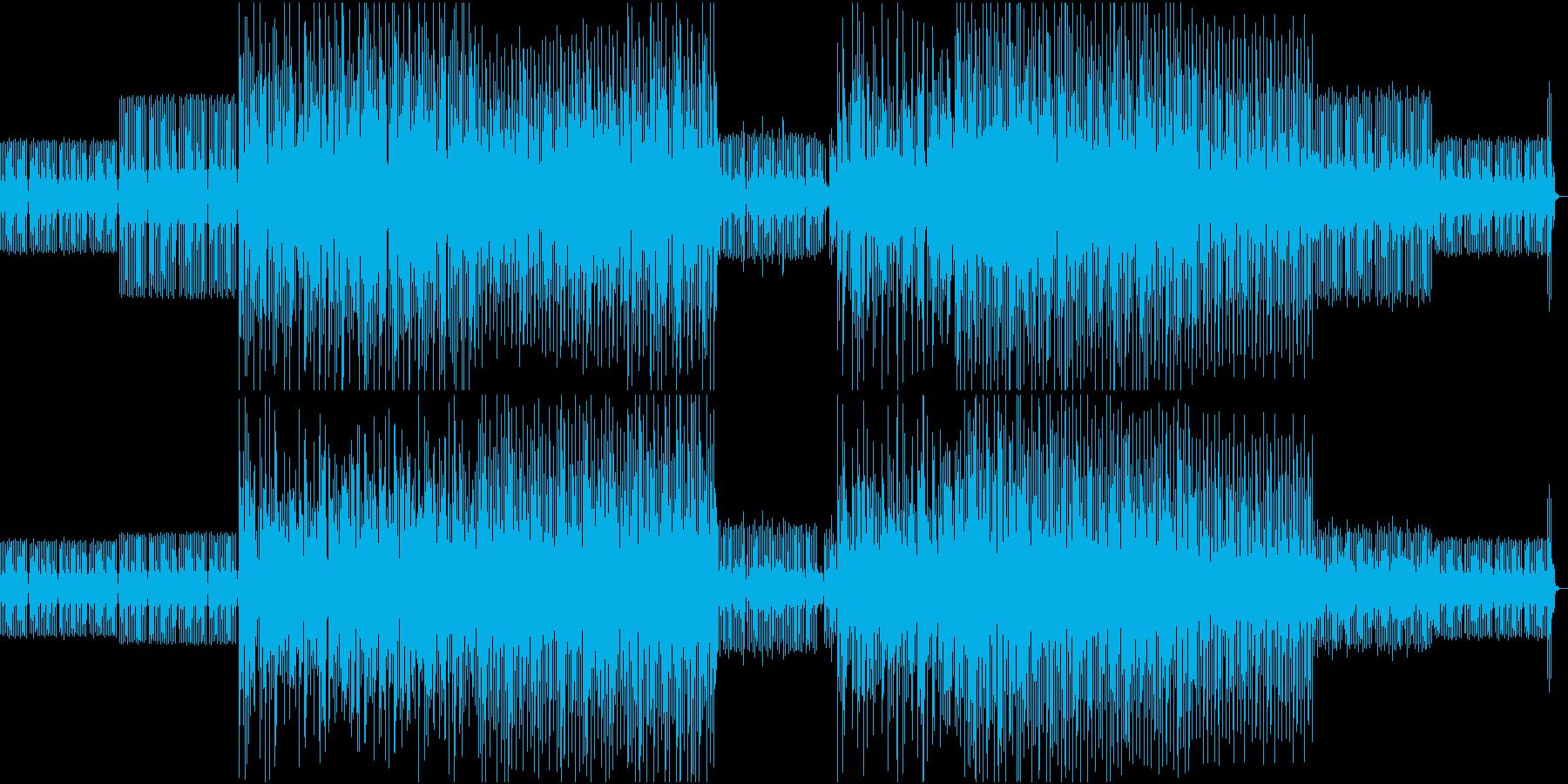エレクトロBGM1の再生済みの波形