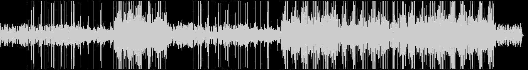牧歌的な洋楽ポップ/カントリー風BGMの未再生の波形