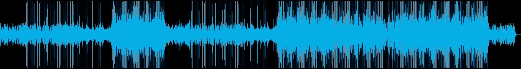 牧歌的な洋楽ポップ/カントリー風BGMの再生済みの波形