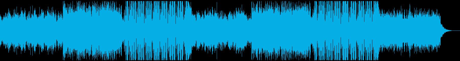 FuturePop3、お洒落、洋楽、夏Lの再生済みの波形