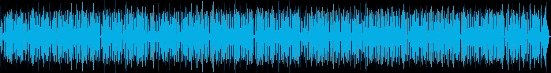 ハンドドラム、アコースティックギタ...の再生済みの波形