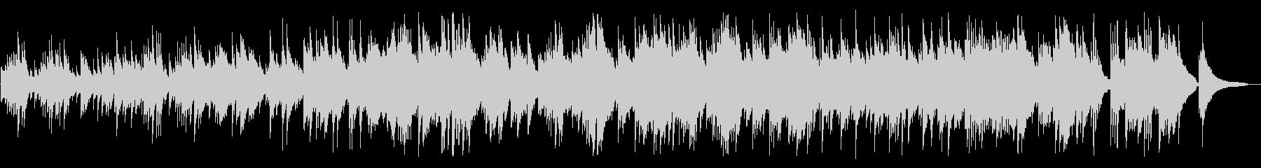 切なく、澄み切ったようなピアノBGMの未再生の波形