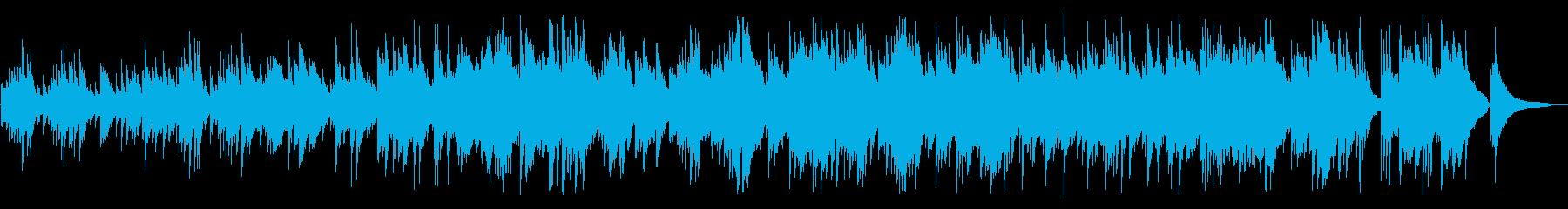 切なく、澄み切ったようなピアノBGMの再生済みの波形