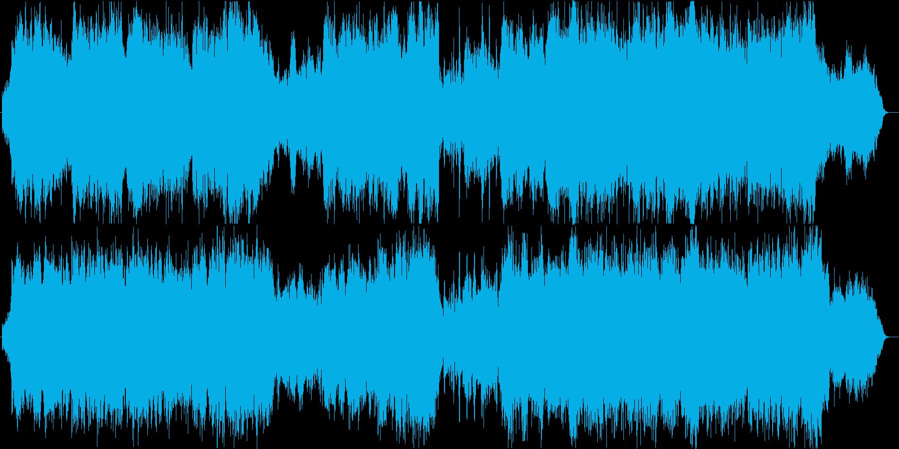天空の再生済みの波形