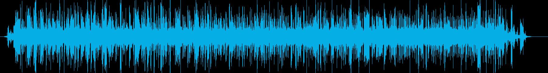 幻想的なサスペンス映画の雰囲気のBGMの再生済みの波形