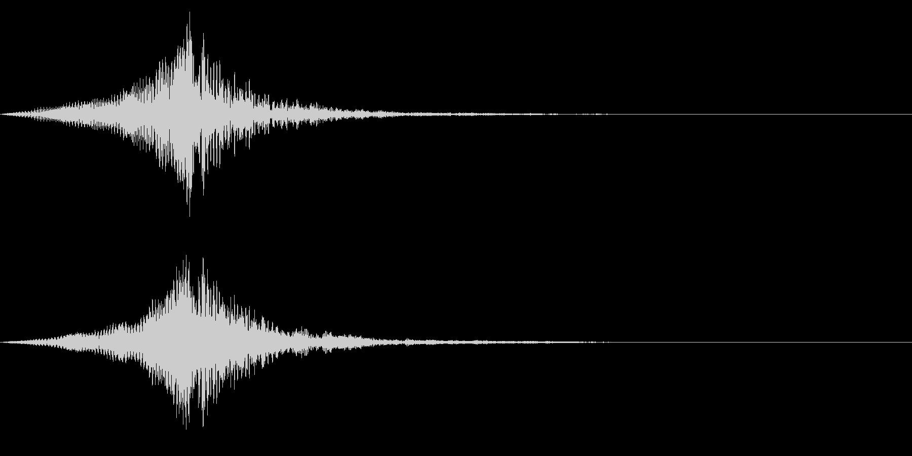 ホラー系アタック音90の未再生の波形