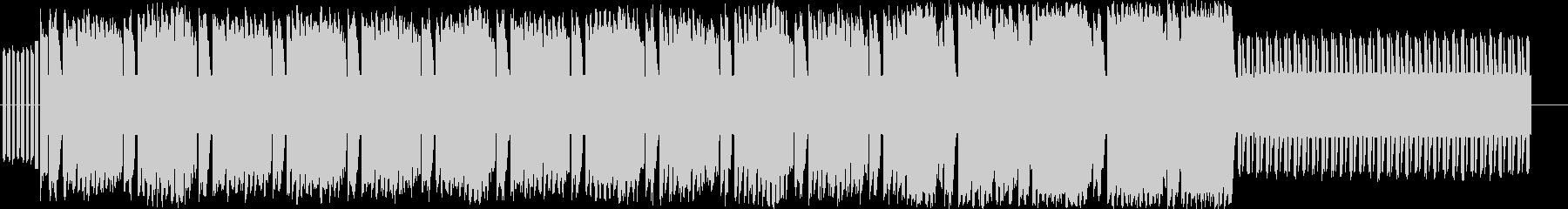 ファミコンレトロの単純なチップチューンの未再生の波形