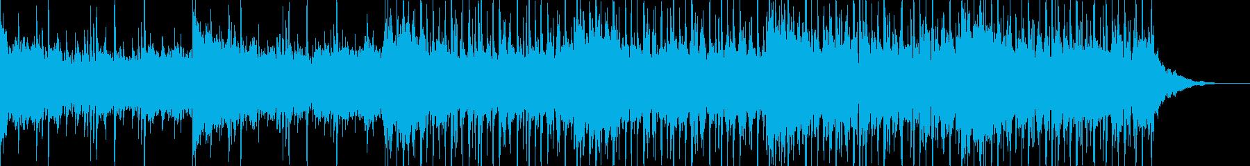 ループ可、緊迫、ダークなシンセ&ビートの再生済みの波形
