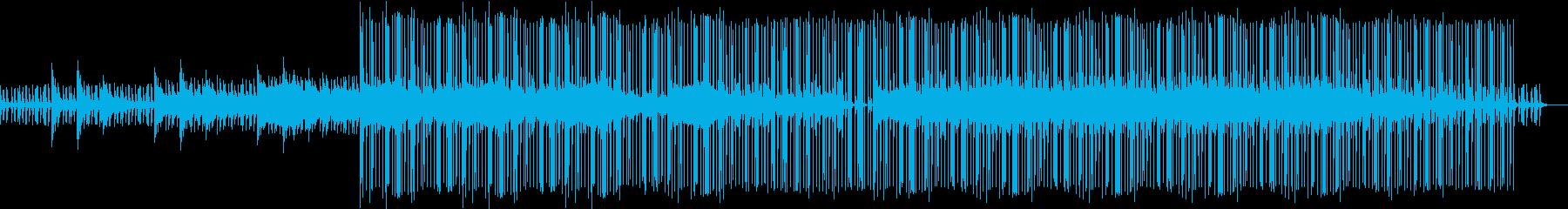 現代音楽・ミニマル的ピアノメインインストの再生済みの波形