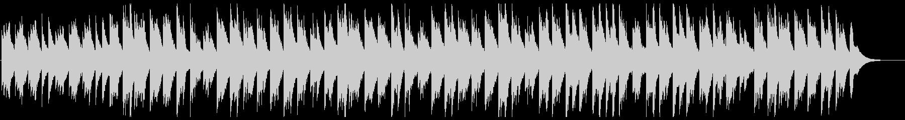 琴とシンセが奏でるヒーリングミュージックの未再生の波形