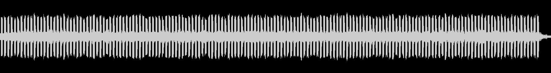 テレパシーの未再生の波形