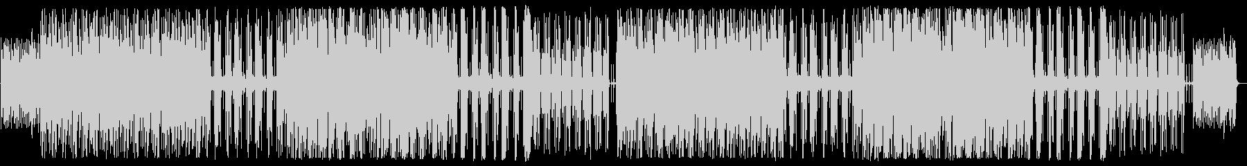 YouTube ピアノ・リズミカルの未再生の波形