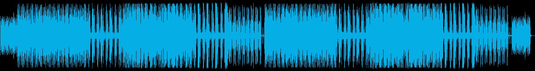 YouTube ピアノ・リズミカルの再生済みの波形