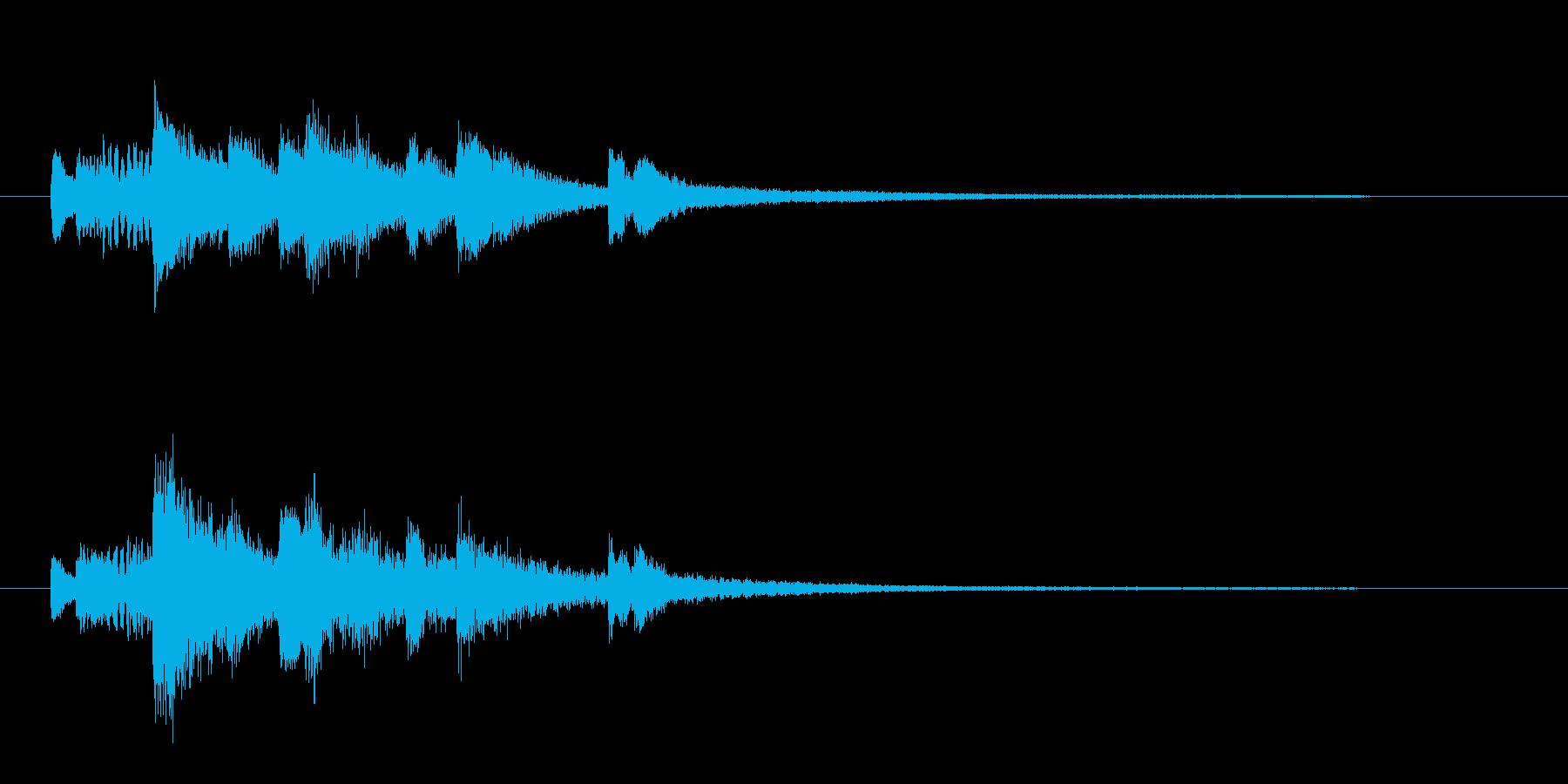 ジングル:TECH系・IT系01の再生済みの波形