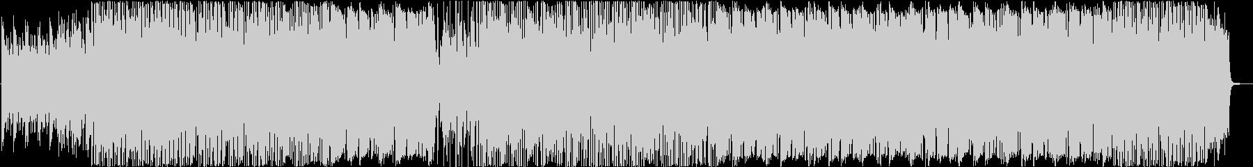 ミディアムテンポのフュージョンの未再生の波形