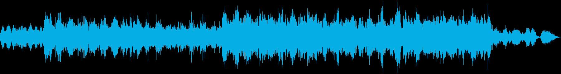 ノスタルジックなアコギとストリングスの再生済みの波形