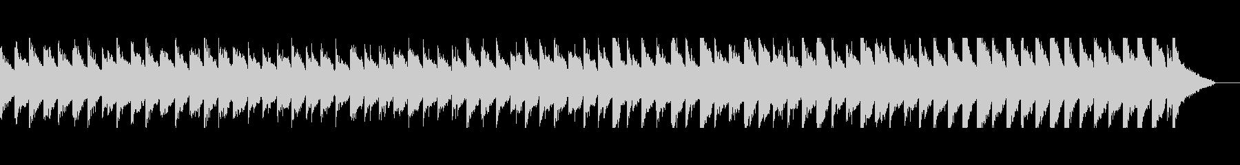 優しい雰囲気のアコギピアノセンチメンタルの未再生の波形