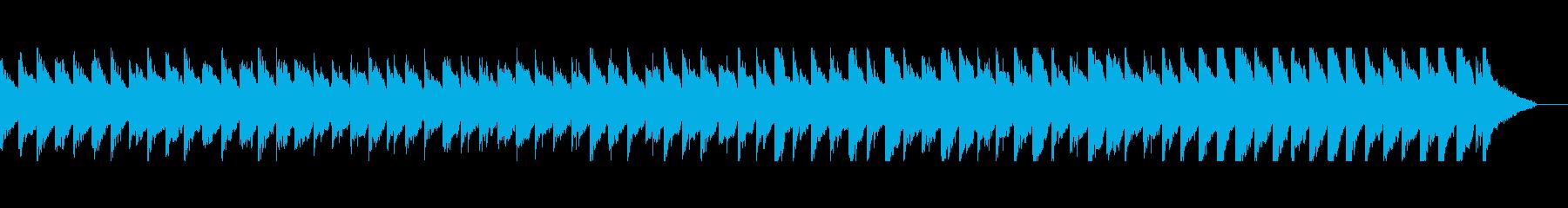 優しい雰囲気のアコギピアノセンチメンタルの再生済みの波形