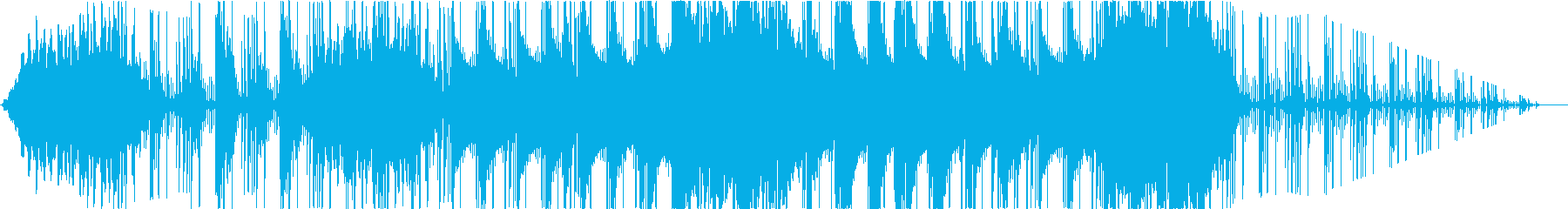 ピアノフォルテの雰囲気。リバースシンセの再生済みの波形