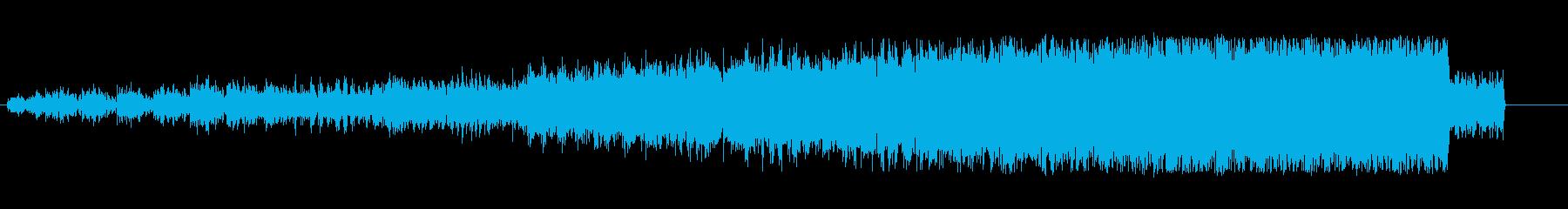 上昇 テープマシンノイズスピンアップ05の再生済みの波形