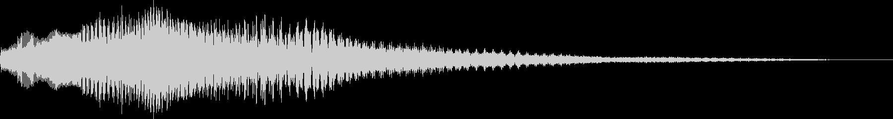 8BIT ファミコン風 選択音の未再生の波形