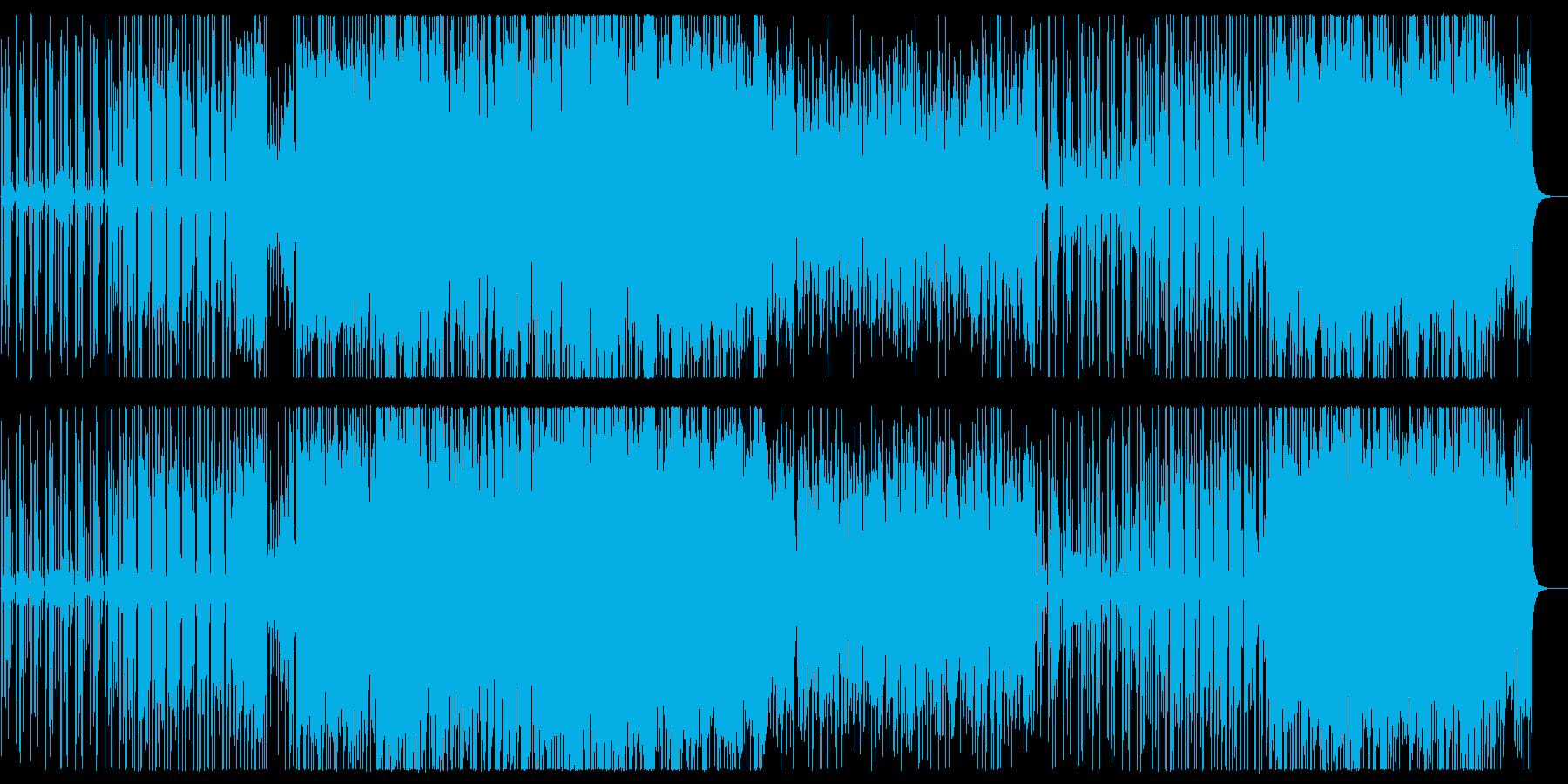 軽快でキャッチ―なシンセポップスの再生済みの波形