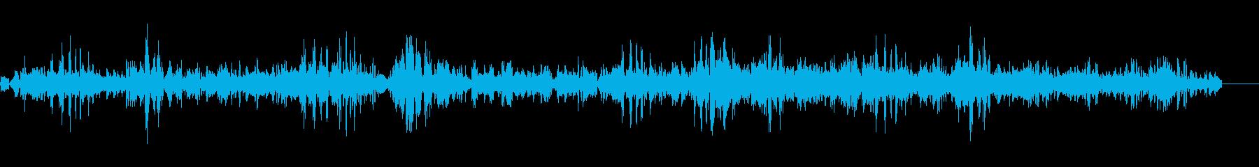 きしむと動きを持つグループバットの再生済みの波形