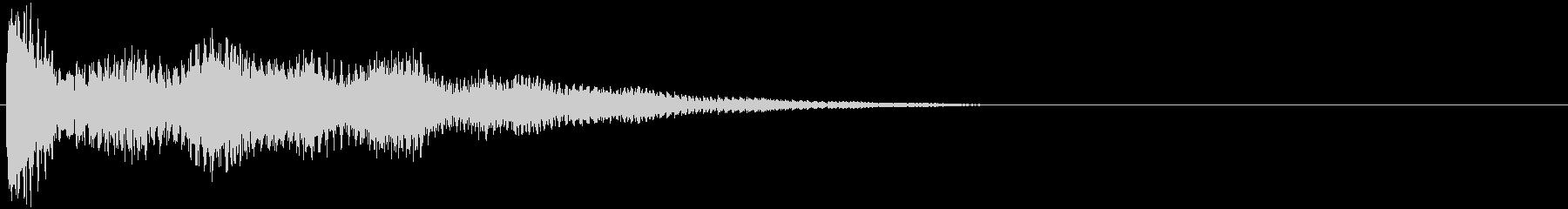 強化されたプラクテッドシンセアクセント2の未再生の波形