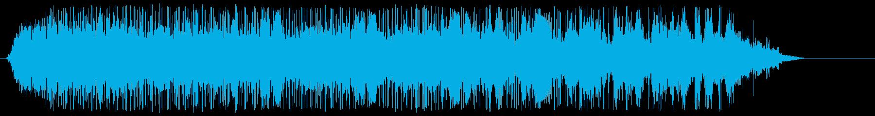 閉会前のサンフェルミンの再生済みの波形