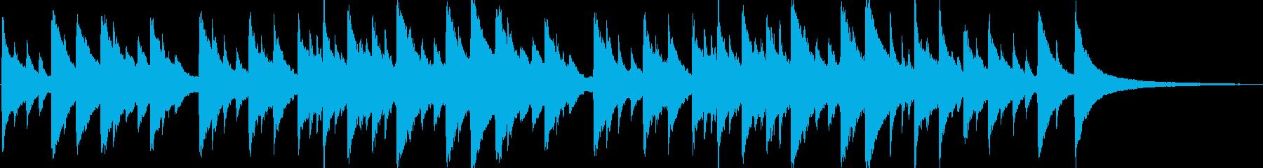 たなばたさま ピアノ伴奏の再生済みの波形