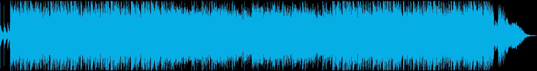 アラビアンナイトをモチーフにした曲の再生済みの波形