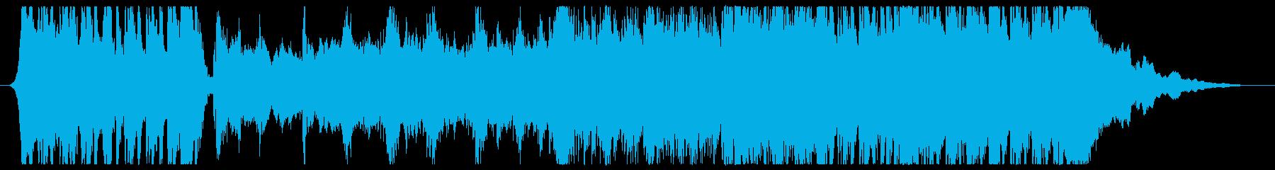古代風ダークファンタジーの冒頭っぽい曲の再生済みの波形