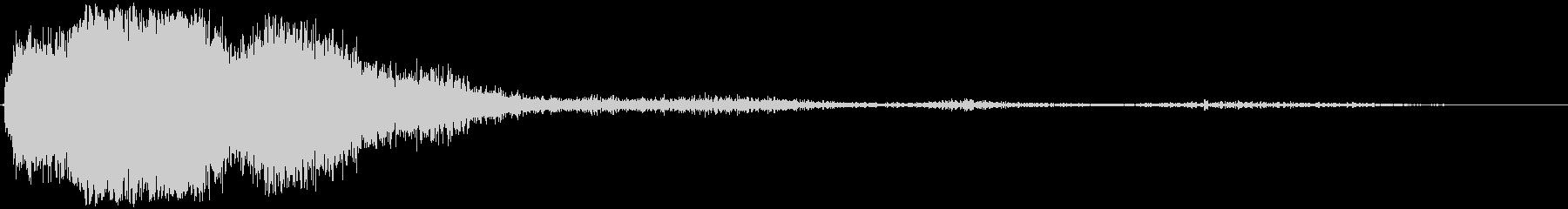 ロングヘビーザップスイープの未再生の波形