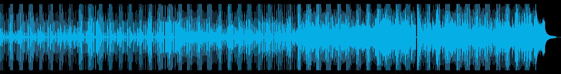 ElektricFunkバックトラックの再生済みの波形