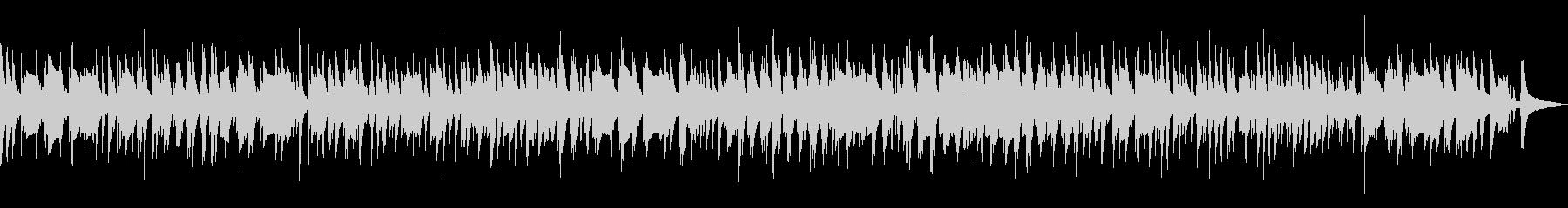 ピアノとベースのジャズラウンジバラードの未再生の波形