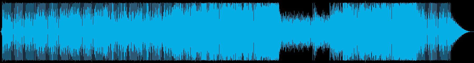 対戦BGM等/疾走感ある未来的エレクトロの再生済みの波形