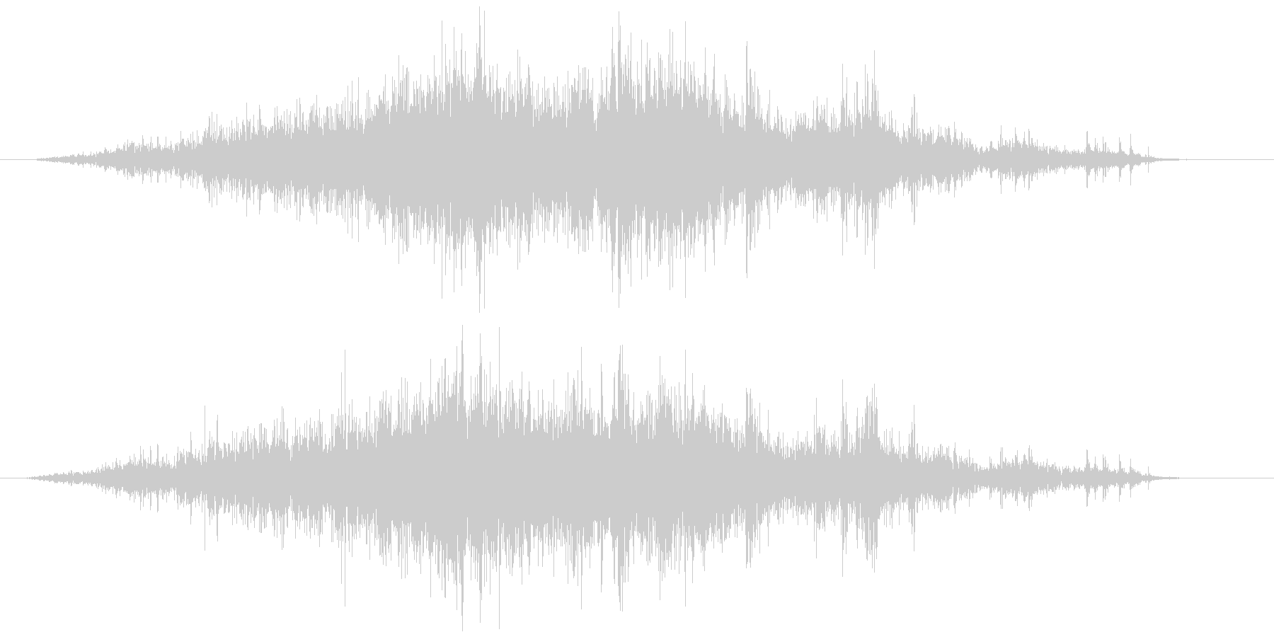 メジャー巻尺(コンベックス)シャーッの未再生の波形